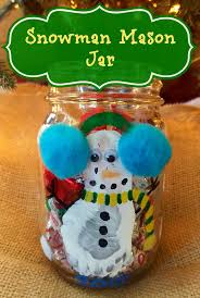 this snowman mason jar is the perfect gift for parents of little