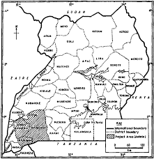 Map Of Uganda High Fertility In Rural Uganda Cta Fountain Publishers 1995