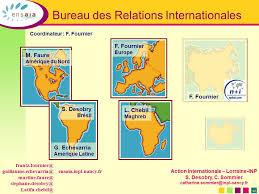 bureau des relations internationales école nationale supérieure d agronomie et des industries