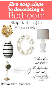 Accessories To Decorate Bedroom How To Decorate A Bedroom In 5 Easy Steps