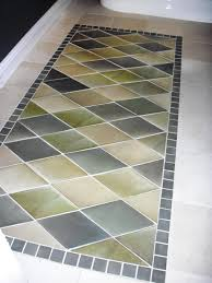 Bathroom Floor Rugs How To Create An Inlaid Tile Rug How Tos Diy