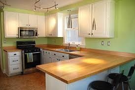 Wood Kitchen Countertops Love My Home Wooden Kitchen Countertops