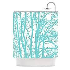 Mint Shower Curtain Palm Tree Shower Curtain Wayfair