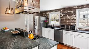wood backsplash kitchen backsplashes to pair with soapstone counters kitchen bath trends