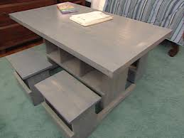 how to make a child s desk how to build child sized table and stools hgtv