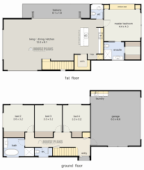 4 bedroom floor plans 2 story 2 story house plans 3 bedroom best of floor plan 2 storey house