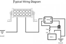 light bar wiring diagram without relay wiring diagram