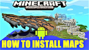 Mpce Maps Minecraft Pe How To Install Maps On Android Mcpe 1 0 5 2017