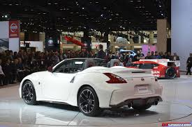 nissan 370z custom black chicago 2015 nissan 370z nismo roadster concept gtspirit