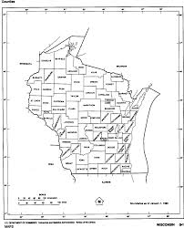 Map Of Wisconsin by