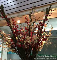 Long Stem Flowers 116cm High Simulation Long Stem Artificial Plum Fake Plum Branch
