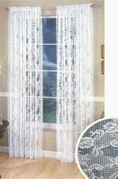 discount white lace panel curtains 2017 white lace panel