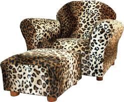 leopard print accent chair leopard print accent chair ottoman set kid child living room lounger couch leopard print accent chair