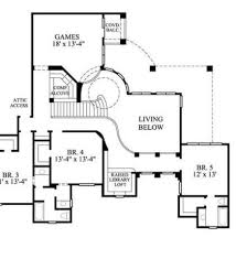 Spanish Style Floor Plans by Santa Fe Spanish Ranch Home Plan 106d 0013 House Plans And More