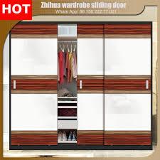 Bedroom Wardrobe Closet Zhihua 3 Track Sliding Wardrobe Closet Door For Bedroom Wardrobe