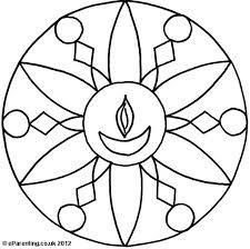 28 Collection of Indian Rangoli Coloring Pages  High quality free