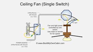 ceiling fans wiring diagram