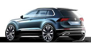 custom volkswagen tiguan 2017 vw tiguan is bigger more mature and more premium