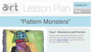 lesson plans the art of ed
