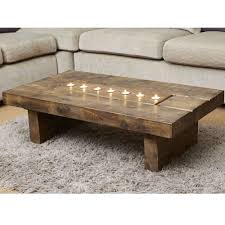 reclaimed wood square coffee table image gallery of chunky wood coffee tables view 12 of 20 photos