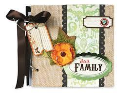 burlap photo album burlap family album national craft month project giveaway