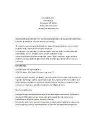 Resume Example For Call Center by 30 Customer Service Resume Examples Template Lab