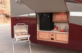 Outdoor Entertainment Center by Coachmen Mirada Rv Optional Outdoor Kitchen And Entertainment