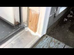 Hardwood Door Frames Exterior Solution For Rotten Exterior Door Frame