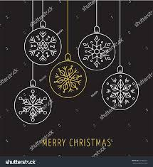 snowlakes geometric ornaments background stock vector