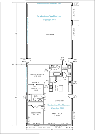 shop plans with living quarters