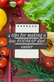 Map Diet 4 Tips For Making A Low Fodmap Diet Easier A Less Irritable Life