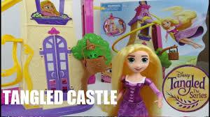 disney tangled princess rapunzel swinging locks castle doll