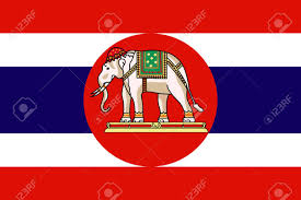 Navy Flag Meanings Original And Simple Kingdom Of Thailand Royal Navy Flag Isolated