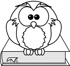cartoon drawings of owls coloring free coloring pages