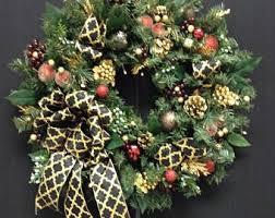 black friday sale wreath blue and silver wreath