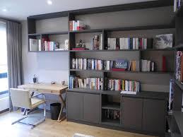 bibliothèque avec bureau intégré bibliotheque et bureau intégré portfolio tags agence diot clement
