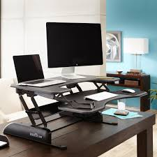 Standing Sitting Desk Don T Take Work Sitting Get On Your With A Standing