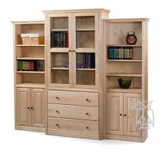 unfinished wood bookcase kit bookcase unfinished wood bookcases with doors wooden contemporary