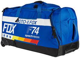 motocross gear bags fox racing shuttle draftr roller gear bag revzilla