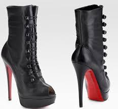 christian louboutin alta bouton ankle boots