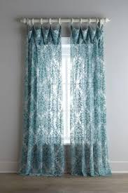 Curtains Printed Designs Lush Decor Clara Window Curtain Panel Set Turquoise Tangerine