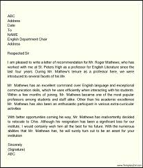 recommendation letter sample for teacher colleague cover letter