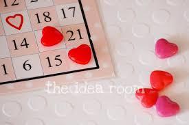 valentine bingo cards the idea room