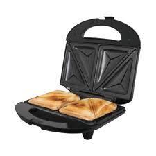 Kenwood Sandwich Toaster Kenwood Sandwich Toaster 2 Slice Non Stick Silver Sm435 Ebay