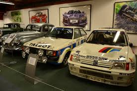 motor peugeot file talbot and peugeot 205 rally cars at coventry motor museum