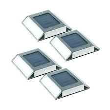 Solar Landscape Lights Home Depot by Chrome Solar Landscape Lighting Outdoor Lighting The Home