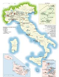Liguria Italy Map by