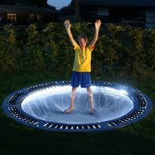 10ft capital in ground trampoline kit with grey pads interest