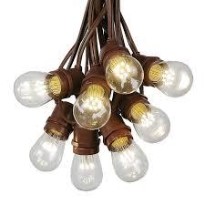 led edison string lights novelty lights inc rakuten 100 foot s14 led edison outdoor string