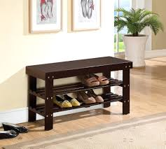 image of entryway bench and coat rack paint upholstered entryway